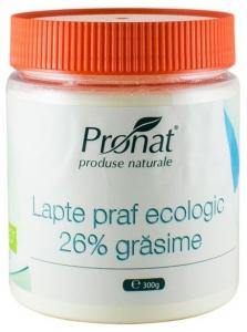 Lapte praf Bio 26% grasime, 300 g