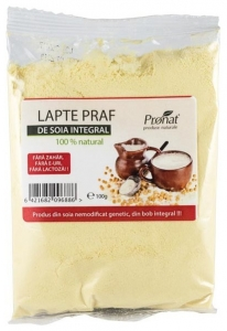 Lapte praf de soia, 100 gr