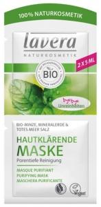 Masca bio purificatoare pentru piele, 2x5ml