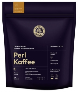 "Cafea boabe BIO ""Perl Kaffee"", 125g"