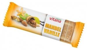 Baton Bio cu migdale si vanilie, 60 g