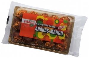 Bomboane din FRUCTE BIO Ananas + Mango (Fara Zahar) 120gr