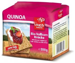 LINEA NATURA – Paine BIO crocanta din faina integrala de Quinoa, 200g