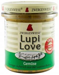 Lupi Love - Crema tartinabila Bio vegetala din lupin cu legume - 165 g
