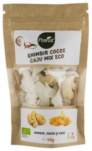 Mix bio de ghimbir, cocos si caju 40 g