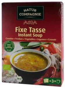 Supa bio instant de legume, 60g