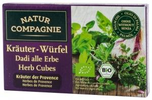 Cuburi bio cu verdeturi de Provence