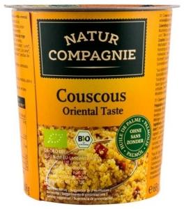 Mancare bio la pahar Cuscus gust oriental