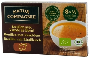 Supa bio cu carne de vita, 96 g