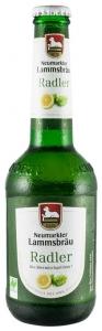 Bere Radler Bio cu lamaie, 2.5% alcool - 0,33L