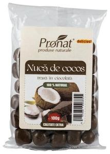 Nuca de COCOS trasa in ciocolata 100gr