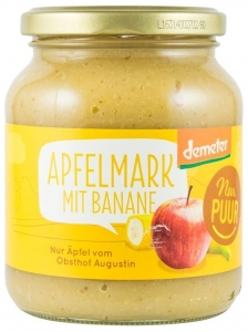 Nur Puur - Piure ecologic de mere cu banane, 360g