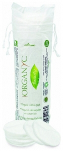 Organyc dischete demachiante din bumbac organic  70 buc