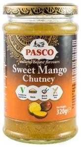 PASCO – Chutney dulce de mango, 320 g