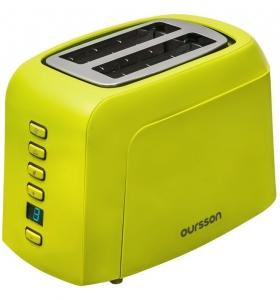 Prajitor de paine Oursson TO2145D/GA, panou de control digital, 800 W, Verde