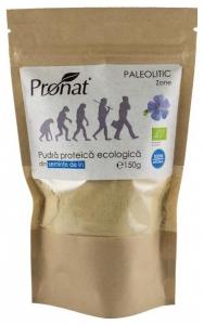 Pudra proteica bio din seminte de in, 150g