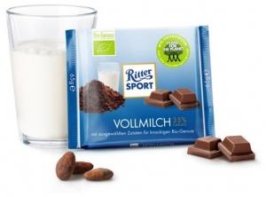 Ciocolata BIO cu lapte, 35% cacao, 65 g