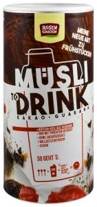 ROSEN GARTEN – Musli Drink BIO cu cacao si guarana, 500g