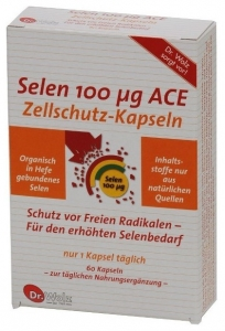 Selen 100 Mg ACE Dr. Wolz 60 cp