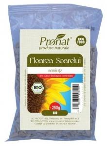 Seminte de floarea soarelui Bio, 250 g