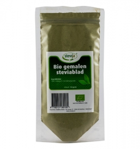 STEVIJA - Pulbere din frunze de stevie BIO, 100g