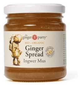 The ginger party - Gem Bio de ghimbir, 240g