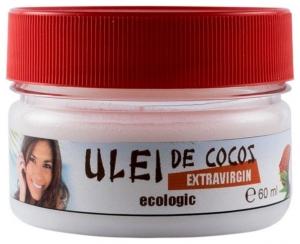 Ulei (unt) de COCOS pentru COSMETICA 60 ml