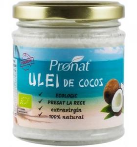 Ulei  de cocos extravirgin BIO presat la rece 200ml