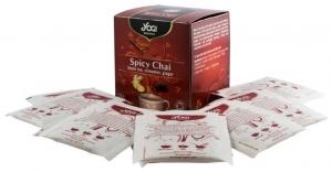 Ceai BIO cu mirodenii, ceai negru, scortisoara, ghimbir, 12 plicuri - 24 g