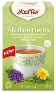 Ceai Bio Plante Alcaline Yogi Tea 35.7gr 17 plicuri