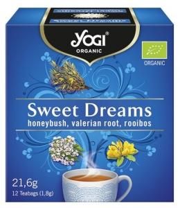 Ceai BIO vise placute cu honeybush, radacina de valeriana si rooibos, 12 plicuri - 21,6g
