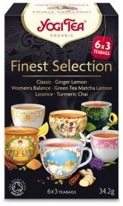 Selectie de ceaiuri BIO Finest Selection, 34,2g
