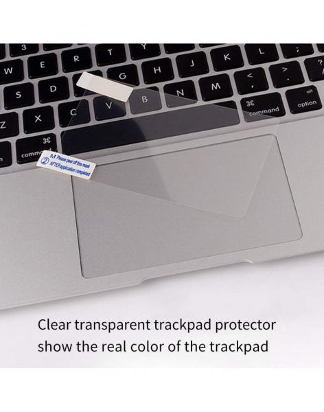 Pachet folie protectie ecran anti-glare si folie clara trackpad pentru Macbook Pro 13 Touch Bar