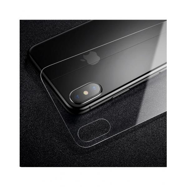 Sticla securizata protectie spate pentru iPhone X 5.8 inch