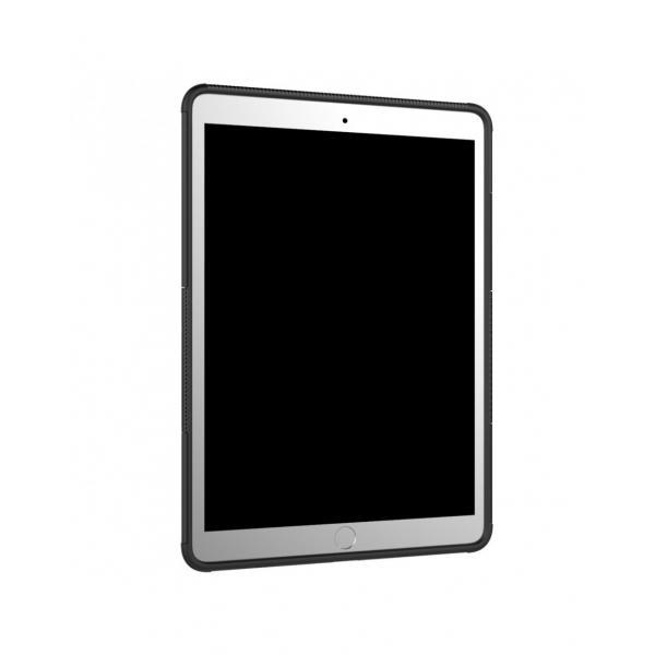 """Carcasa de protectie cu suport din plastic si gel TPU pentru iPad Pro 10.5"""" (2017), neagra"""
