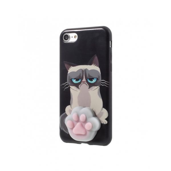 Carcasa protectie spate cu Squishy pentru iPhone 7 / iPhone 8