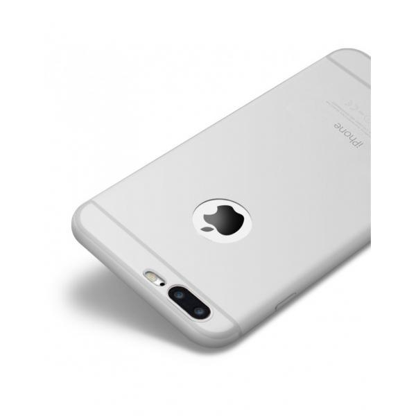 Carcasa protectie spate CAFELE din silicon pentru iPhone 7 Plus