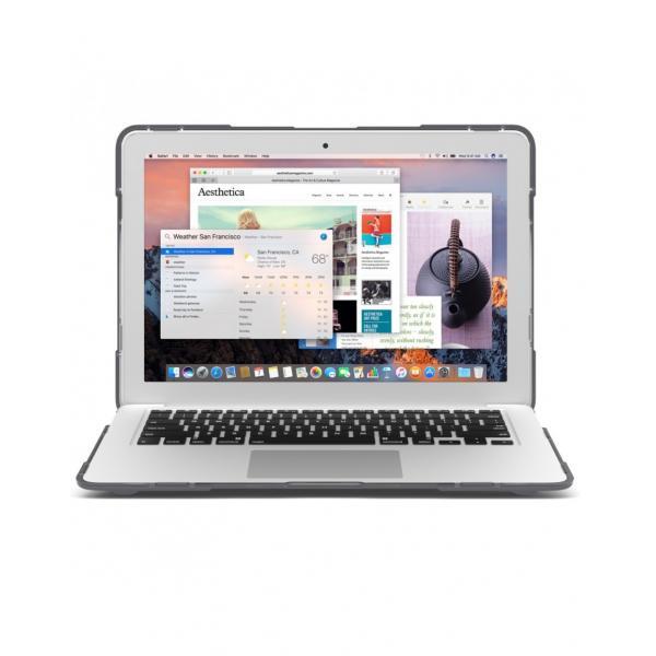 Carcasa protectie spate Heavy Duty cu suport pentru MacBook Air 13.3 inch - amiplus.ro