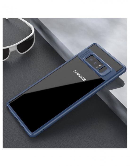 Carcasa protectie spate din gel TPU si acrilic pentru Samsung Galaxy Note 8