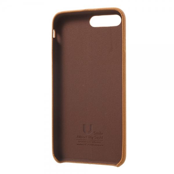 Carcasa protectie spate din piele ecologica si plastic pentru iPhone 8 Plus / 7 Plus 5.5 inch