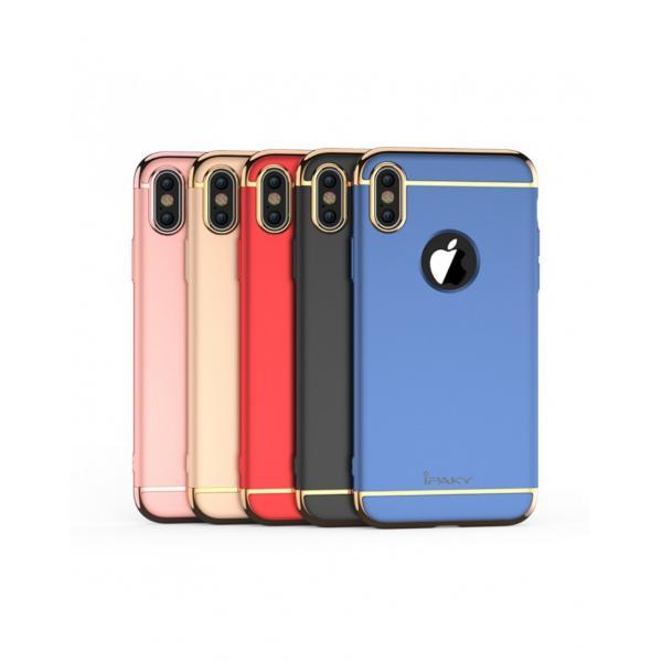 Carcasa protectie spate din plastic ipaky pentru iPhone X 5.8 inch - amiplus.ro