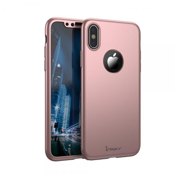 Husa protectie completa IPAKY pentru  iPhone X/10