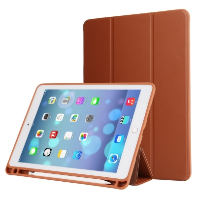 Husa protectie din piele ecologica pentru iPad Pro 10.5 (2017), maro
