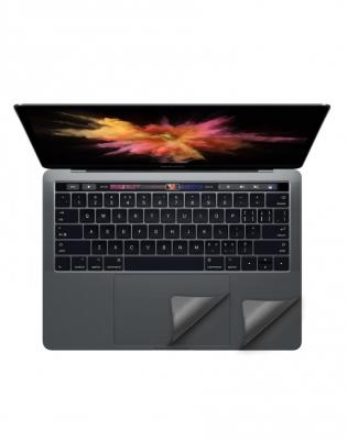 "Folie protectie palm rest si trackpad aspect aluminiu pentru MacBook Pro 13.3"" 2016 / Touch Bar, space grey"
