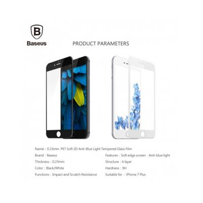 Sticla securizata protectie ecran completa pentru iPhone 7 / 8 Plus