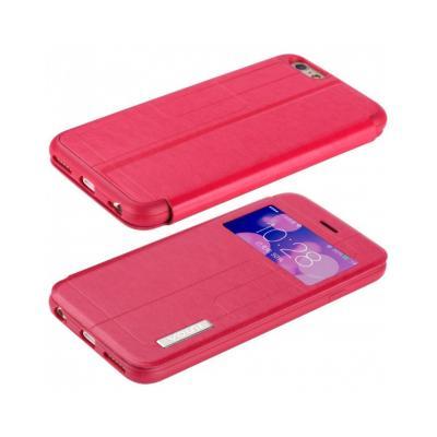 """Husa protectie VOUNI """"Window View"""" pentru iPhone 6 / 6s, rosie"""