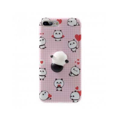 Carcasa protectie spate cu panda Squishy pentru iPhone 7 Plus / iPhone 8 Plus
