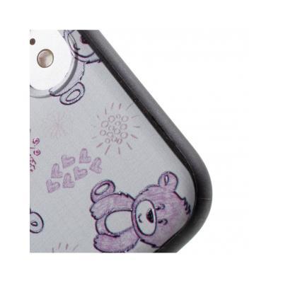Carcasa protectie spate cu urs Squishy pentru iPhone 7 / iPhone 8