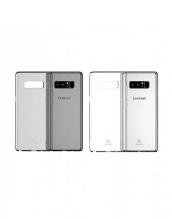 Carcasa protectie spate clara pentru Samsung Galaxy Note 8