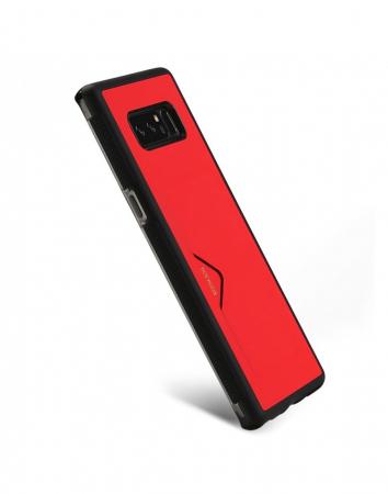 Carcasa protectie spate cu suport pentru card pentru Samsung Galaxy Note 8
